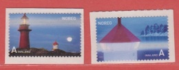 2007 ** (sans Charn., MNH, Postfrish)  Yv  1566/7Mi  1621/2NHK  1656/7 - Norvège