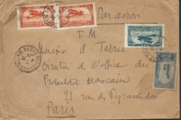 MAROC – Env Par Avion Intéressante – A Bien Regarder - Détaillons Collection  – Lot N° 18352 - Maroc (1891-1956)