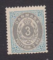 Denmark, Scott #25c, Mint Hinged, Number, Issued 1875 - 1864-04 (Christian IX)