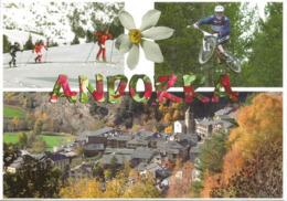 Plaisir Du Sport En Andorre L-été Et L-hiver. Carte Postale Neuve Non Circulée - Andorre