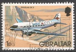 Gibraltar. 1982 Aircraft. 1p Used. SG 460 - Gibraltar
