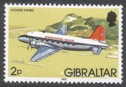 Gibraltar. 1982 Aircraft. 2p MH. SG 461 - Gibraltar
