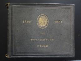 BUREAU VERITAS POUR LA CLASSIFICATION ET LA CONSTRUCTION DES NAVIRES 1881 - Vieux Papiers