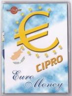 CIPRO - ANNO 2008 - EURO MONEY - SERIE DIVISIONALE - NEL 2008 CIPRO SOSTITUISCE LA SUA MONETA NAZIONALE CON L'EURO - - Cipro