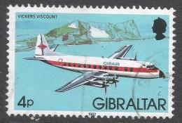 Gibraltar. 1982 Aircraft. 4p Used. SG 463 - Gibraltar