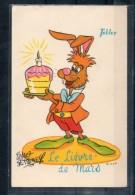 Le Lievre De Mars. Walt Disney. Chocolat Tobler - Disney