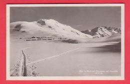 Kt Uri, POSTHOTEL OBERALPSEE Auf Passhöhe, Im Winter // Gelaufen - UR Uri