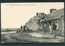 CPA - ARGENTON - Corps De Garde Des Douanes, Animé - Frankreich