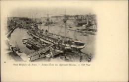 29 - BREST - Bateau école - Brest