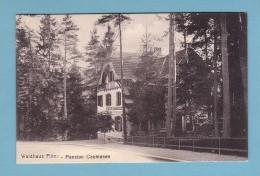 Kt Graubünden, WALDHAUS FLIMS, PENSION CAUMASEE // Gelaufen In 1922 - GR Grisons