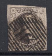 N° 6 Margé Planche IV A Position 168 - 1851-1857 Médaillons (6/8)