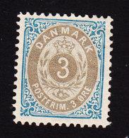 Denmark, Scott #41, Mint Hinged, Number, Issued 1895 - 1864-04 (Christian IX)
