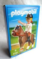 PLAYMOBIL BOITE NEUVE 4191 CAVALIERE ET CHEVAL - Playmobil