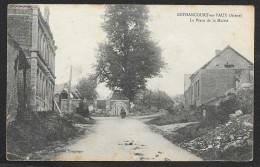 BETHANCOURT En VAUX La Place De La Mairie (Bourson) Aisne (02) - France