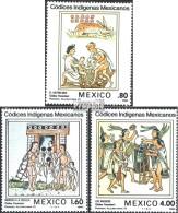 Mexiko 1837-1839 (kompl.Ausg.) Postfrisch 1982 Mexikanische Codices - México