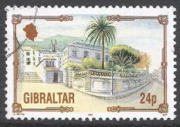 Gibraltar. 1993 Architectural Heritage. 24p Used. SG 702 - Gibraltar