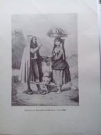 RARE ANTIQUE PRINT FRANCE 1930 COSTUME PAYSANS DE BAGNERES-DE-BIGORRE VERS. 1840 DOG LOW PRICE - Prints & Engravings