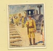 MILITÄR - Eisenbahn - Truppen In Deutsch - Südwest - Afrika, Sammelbild - Ausrüstung
