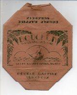 """Publicité - Rare ! Emballage En Carton Complet De Sucre Morceaux 1 KG """" BOUCHON """" Nassandres (Eure) Voir Exemple ! - Werbung"""