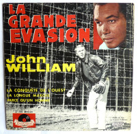 Disque Vinyle 45T La Grande évasion John William Steve Mac Queen Polydor 27066 - Filmmusik
