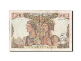 France, 5000 Francs, 5 000 F 1949-1957 ''Terre Et Mer'', 1949, 1949-03-10, KM... - 5 000 F 1949-1957 ''Terre Et Mer''