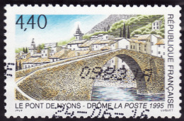 FRANCE  1995  -  Y&T  2956  -  Pont De Nyons  - Oblitere - Used Stamps