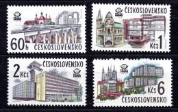 CHECOSLOVAQUIA. AÑO 1978. Mi 2458/2461  - Yv 2289/2292 (MNH) - Tschechoslowakei/CSSR