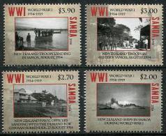 SAMOA - 2014 - Centenaire De La 1ere Guerre Mondiale  - 4 Val Neufs // Mnh WW1 - Guerre Mondiale (Première)
