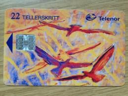 22 Units Telenor - Fine Art  -  Good Condition - Norwegen