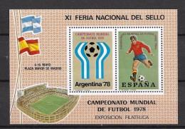 LOTE 745  ///  XI FERIA NACIONAL DEL SELLO 1978 - Variedades & Curiosidades