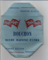 """Publicité - Rare ! Emballage En Carton Complet De Sucre Morceaux 1 KG """"  Bouchon"""" Nassandres (Eure) Voir Exemple ! - Werbung"""