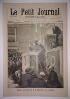 Le Petit Journal 06/02/1898 Séance Scandaleuse à La Chambre Des Députés (suite à L'affaire Dreyfus) - Emeutes à Alger - 1850 - 1899