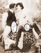 Photo Erotique  Voir Pornographique  Ancienne ,de Maison Close - Pin-ups