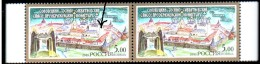 Russia 2003 Monastery 2 MNH Stamps, One With Error - 1992-.... Federation