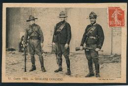 GUERRE 1914-18 - Cavaliers Canadiens - Guerre 1914-18