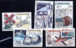 CHECOSLOVAQUIA. AÑO 1979. Mi 2488/2492 - Yv 2317/2321 (MNH) - Tschechoslowakei/CSSR