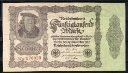 ALEMANIA 1923 50.000 MARK  PICK Nº 79. ROSENBERG Nº 79d  MBC .B799 - [ 3] 1918-1933 : Weimar Republic