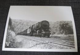 HARGARTEN (57) Photographie Locomotive à Vapeur  Train Gros Plan 1954 - Zonder Classificatie