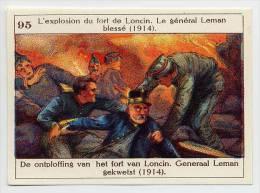Belgische Geschiedenis - Histoire De Belgique - 95 - Loncin, Général Leman - Chromos