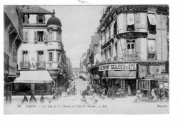DIJON - Maison Au Pauvre Diable Rue De La Libertè Et Coin Du Miroir - France