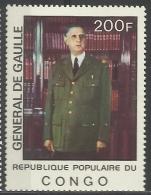 CONGO (BRAZZAVILLE) 1977 GENERAL DE GAULLE MNH - Zonder Classificatie