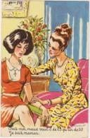 Illustrateur  P.Ordner   2 Femmes Mère Et Fille ?   Photochrom  N°30313 - Humour