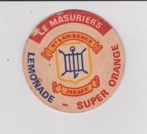 Sous-bocks :     JERSEY  Le  Masurier's , Lemonade , Super  Orange  , ST Lawrence For Walnut Brown Sherry - Sous-bocks
