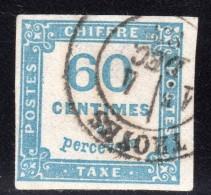 Timbre Taxe N° 9  Avec Oblitération Cachet à Date, Signé SCHELLER   TTB - Postage Due