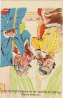 """Illustrateur  P.Ordner , """" Les Deux Sourds """" Couple Surdité , Canne ,Photochrom  N° 30321 - Humour"""