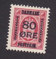 Denmark, Scott #137, Mint Hinged, Official Surcharged, Issued 1915 - 1913-47 (Christian X)