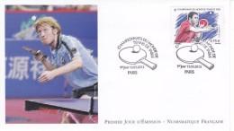 """FDC FRANCE LUXE Premier Jour 2013  """" Championnat Du Monde De TENNIS De Table """" Masculin - Tennis De Table"""