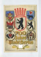 1937 3. Reich Farbige Sonderkarte 700 Jahre Stadt Berlin  SST Fahrbares Postamt - Germany