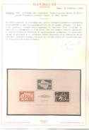 """KROATIEN Block 8 (170-2I) """"Gründung Der Kroatischen Sturmdivision Am 9.10.1944"""" Foto-Attest - CROATIE - Zustand: MNH - Croazia"""