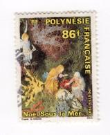 F01693 - Francobollo Stamp - Polynesie Francaise - Noel Natale Presepe Presepio - Polinesia Francese